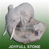 Stone Elephant Sculptures