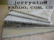 Laminated Veneer Marble with Honeycomb Cladding Stone Panel