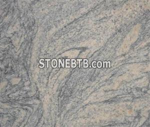 Granite China Juparana sawn-cut surface