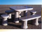 Stone Table And Bench Supplier