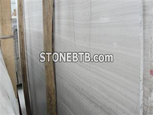 Wooden White marble from China
