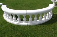 Balustrade - white marble