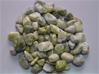 Green Pebble Stone and Cobblestone