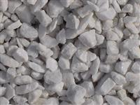 Pure White Marble Pebble and Gravel