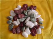 Marble Color Pebble Stone and Cobblestone