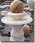Marble Ball Fountain