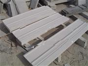 Snow White Marble Baseboard