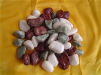 Color Marble Pebble Stone and Crushe Stone