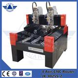 Stone 3d engraving machine with double heads JK-4025S hot sale!