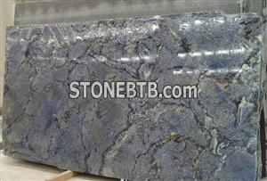 BLUE BRAZIL GRANITE SLAB