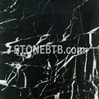BLACK WHITE VEINS(COARSE) MARBLE