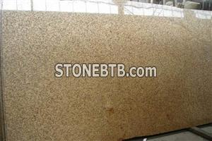 Tiger Skin Yellow Granite slab