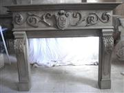 Hand Carved Stone fireplaces