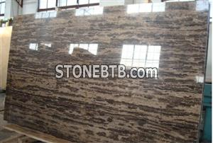 Chinese Coffee Brown Marble Slabs