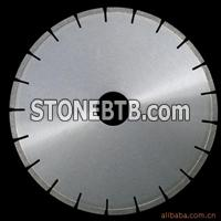 Professional silver brazed saw blade