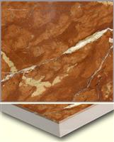 laminated panel-rojo alicante with ceramic tile