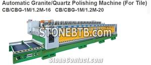 Automatic Granite/Quartz Polishing Machine (For Tile) CB/CBG-1M/1.2M-16