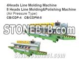 8Heads Line Molding & Polishing Machine CB/CDPM-8