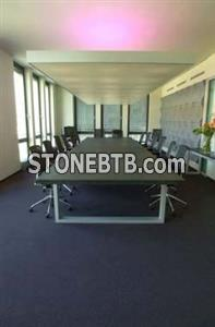 Conference Table in Black Slate