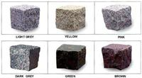 Various cubic stone