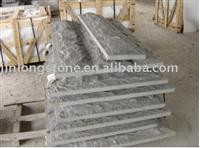Dark Grey Mushroom Granite Tile