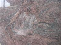 Multicolor Purple Granite Tile
