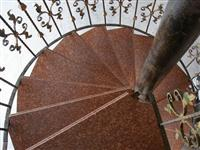 Cheap Red Granite Stair