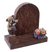 UK granite teddy carving child memorials