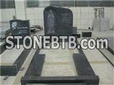 Bahama blue granite the virgin mary statue tombstones