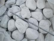 White pebble,river stone,machine made