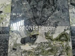 ocean blue tile,green marble tile