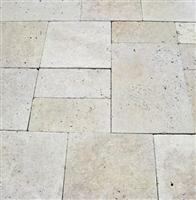 Light Travertine Tumbled Set