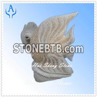 Granite Brown Garden Animal Sculpture