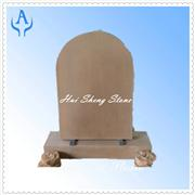 Sandstone Brown Monument Headstone