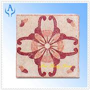 Marble Pink Mosaic Medallion