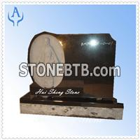 Granite Black Monument Headstone