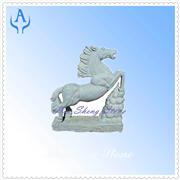 Granite Grey Horse Sculpture