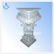 Granite Grey Garden Column