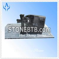 Granite South Africa Black Headstone Monument