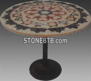Stone Mosaic Table02