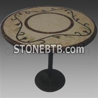 Stone Mosaic Table01