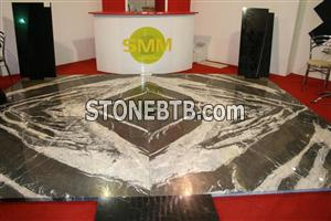Montana silver ice marble flooring