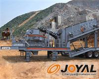 JOYAL Mobile VSI Crushing Plant