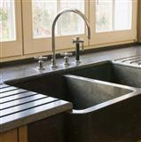 Belgian Bluestone Countertop, sink