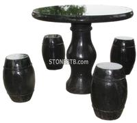 Stone Table and Chair Set statue