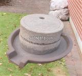 Antique Granite Millstone