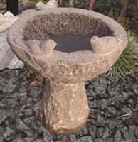 Outdoor Stone Bird Basin