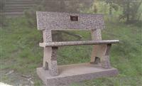 Outdoor Stone chair