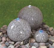 stone ball water fountain