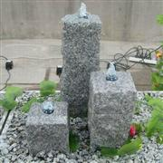 garden stone pillar fountain